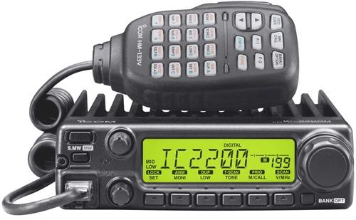 ICOM IC2200T, IC2200H, IC2200E ต่างกันยังไง