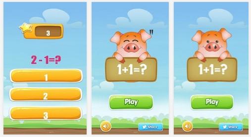 เกมส์คณิตคิดเร็ว คิดเลขเร็ว เล่นบนมือถือ
