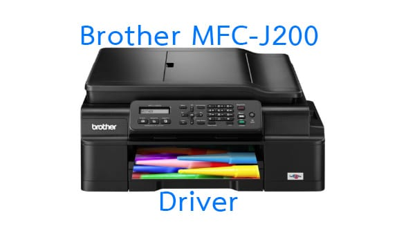 Brother MFC-J200 driver printer