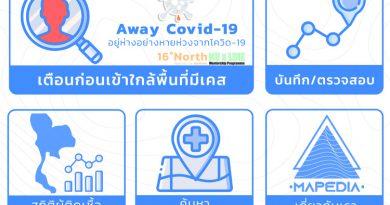 Away Covid-19 แอพช่วยเตือนหากเราเคยไปยังจุดเสี่ยงโควิด-19